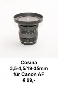 Cosina 19-35mm Canon AF