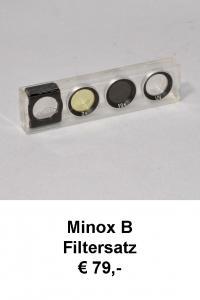 Minox B Filtersatz