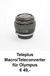 Teleplus Macro-Teleconverter Olympus