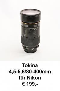 Tokina 80-400 Nikon